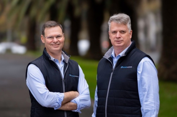 Monash founders Simon Shields (left) and Shane Fitzgerald (right)